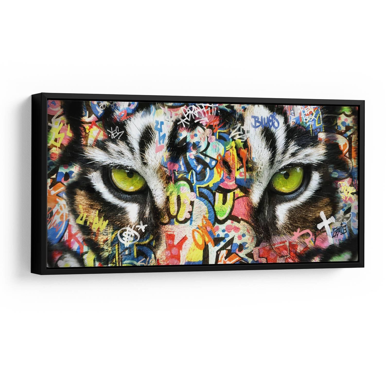 Quadro Olhos de Tigre