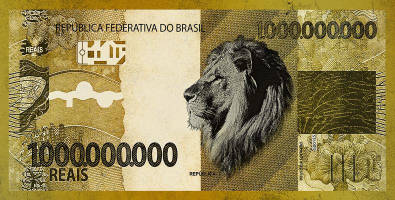 Quadro 1 Bilhão de Reais Leão