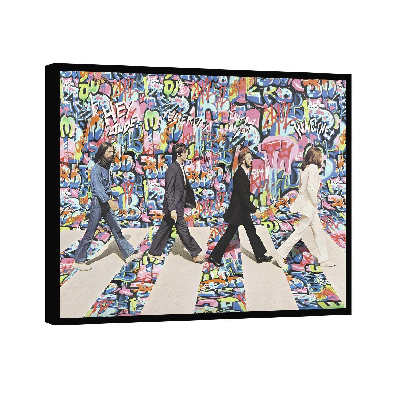 Quadro The Beatles Grafite CRAIG