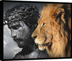 Quadro Jesus O Leão de Judá