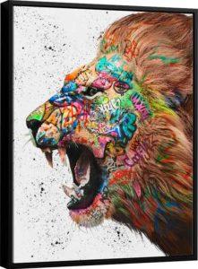 Quadro O Chamado do Leão