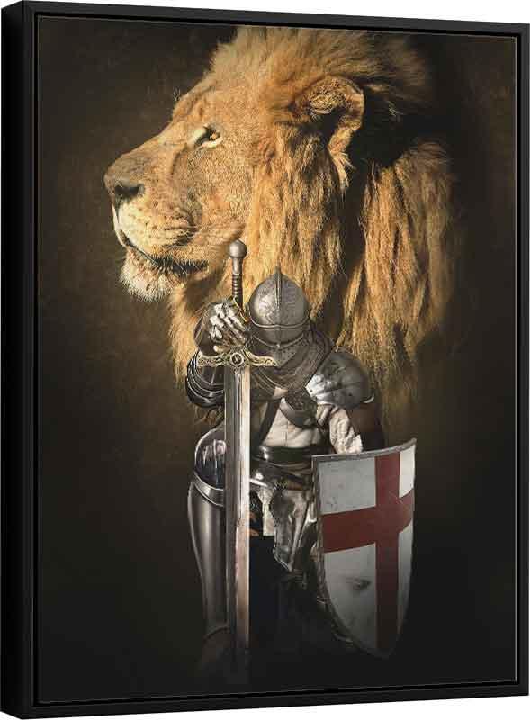 Quadro Cavaleiro de Cristo