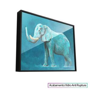 Elefante Azul, quadros de animais