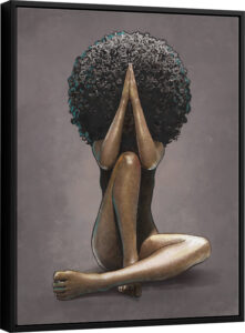 Quadro Rainha Africana