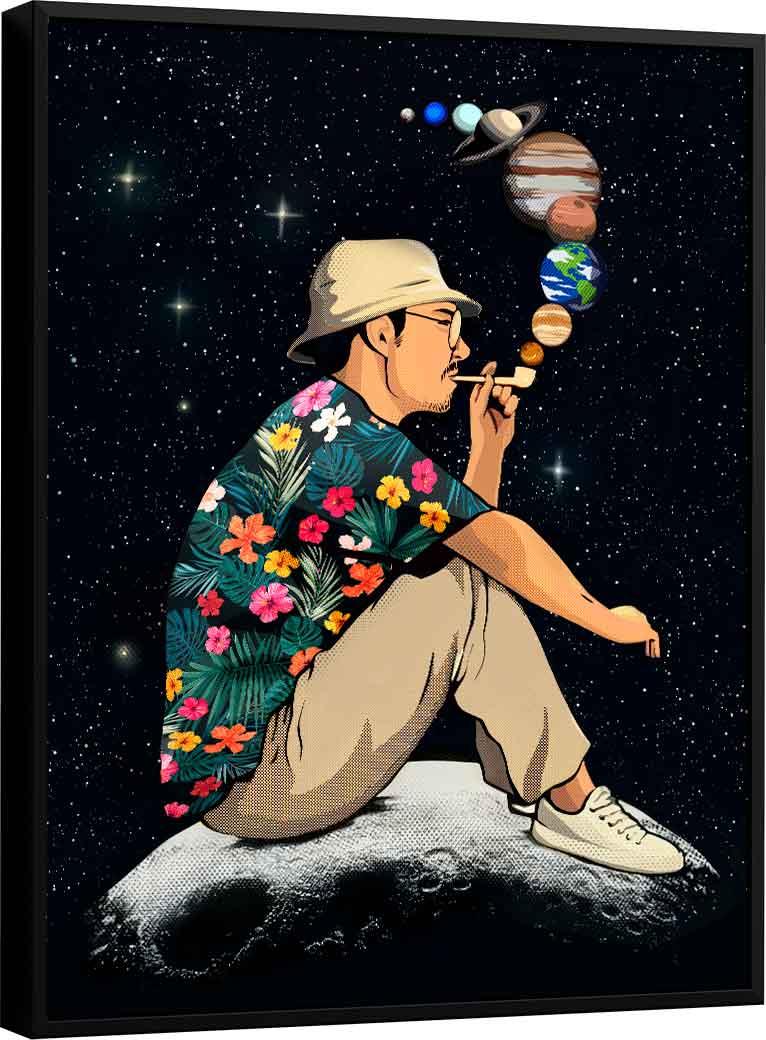 Quadro No Mundo da Lua