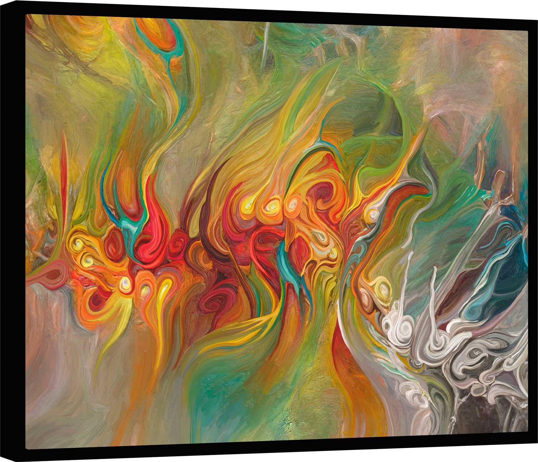 Quadro Abstrato Dorsal das Cores