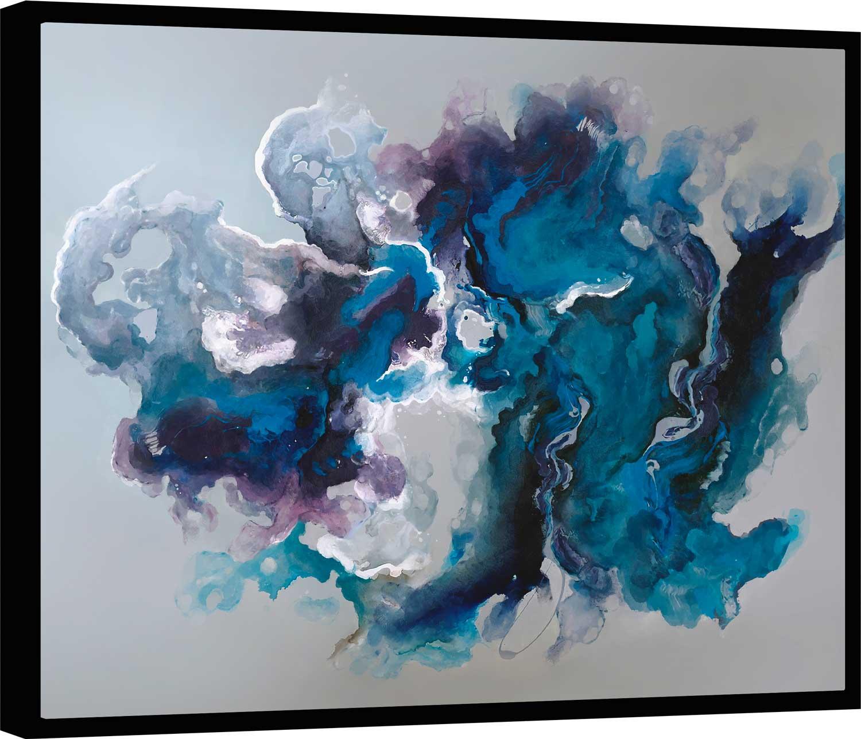 Quadro Abstrato Mergulho