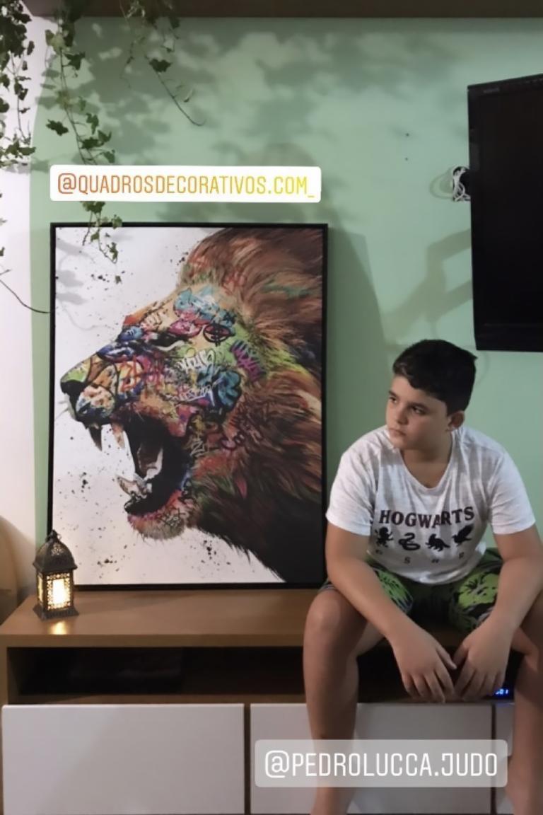 Quadro O Chamado do Leão photo review