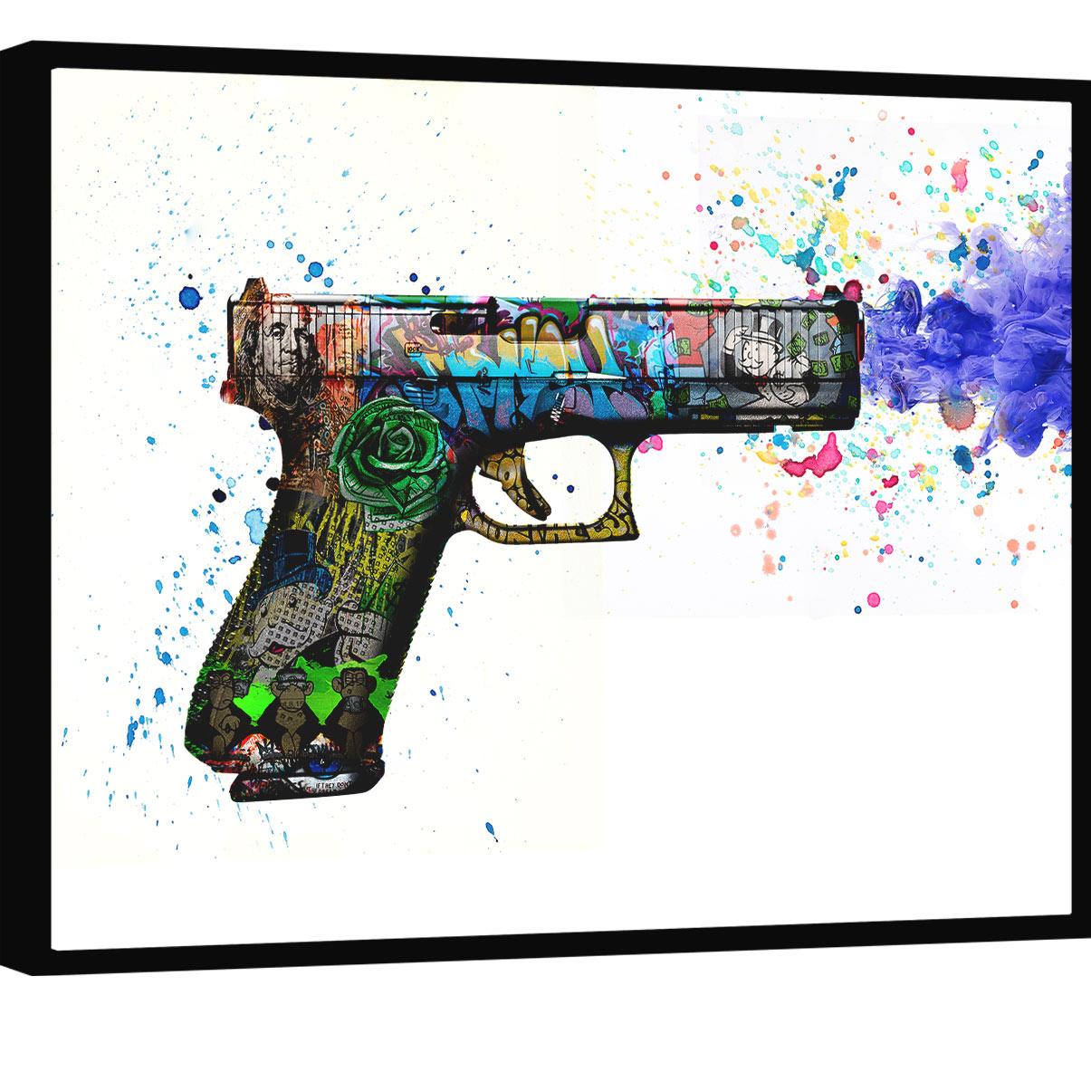 Quadro Glock Grafite CRAIG