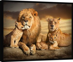 Quadro As Raízes do Leão