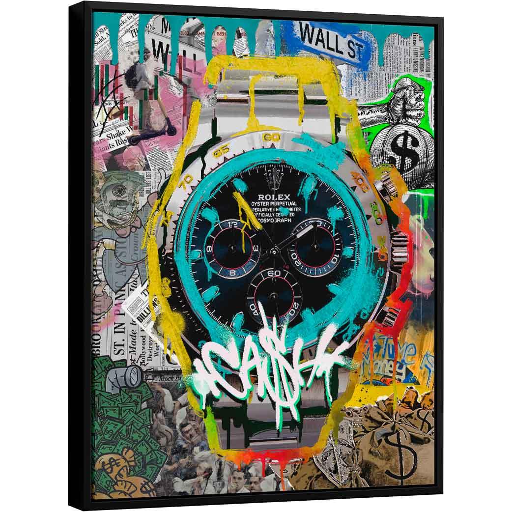 Quadro Rolex Grafite CRAIG