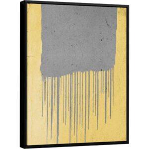 Quadro Abstrato Líquido – Coleção Urbana