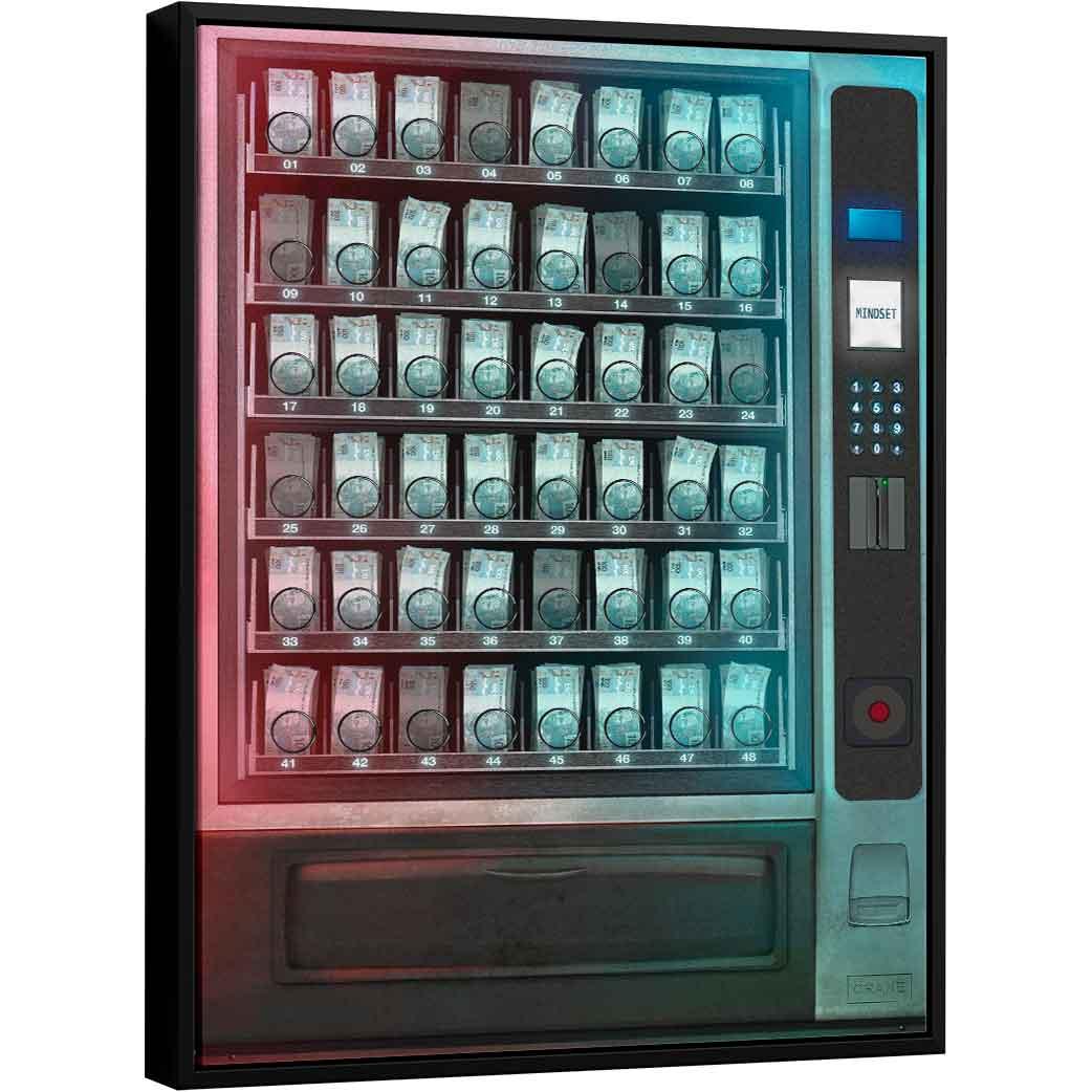 Quadro Máquina de Dinheiro