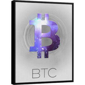 Coleção Criptomoedas – Quadro Bitcoin