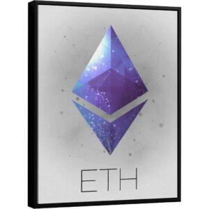 Coleção Criptomoedas – Quadro Etherium